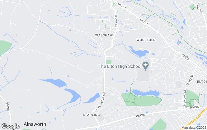 Map for Kristian Allan, Bury