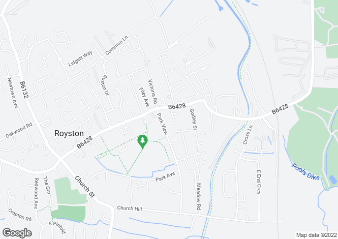 Map for Dove Hill Royston