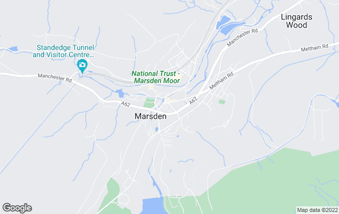 Map for Jane Stocks Estate Agency, Marsden