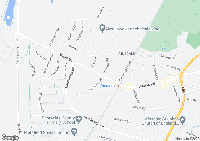 Map for Shore Road,