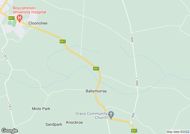 Map for Forest View Lodge, Ballymurray, Co. Roscommon