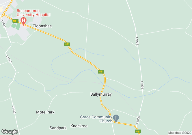 Map for Newtown, Ballymurray, Co Roscommon