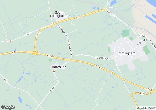 Map for Immingham Road, Habrough