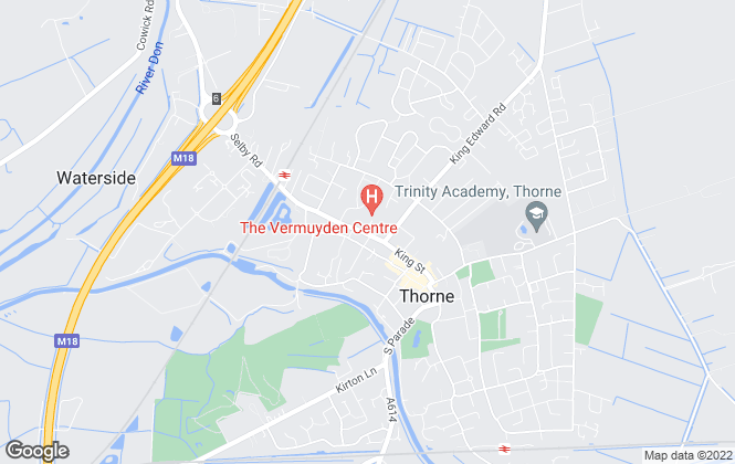 Map for Northwood, Thorne