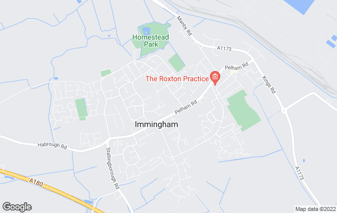 Map for Crofts Estate Agents, Immingham