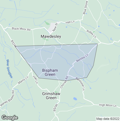 Map of property in Bispham