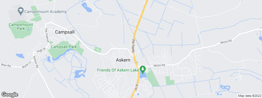 Map for Gleeson Homes (East & West Yorkshire)