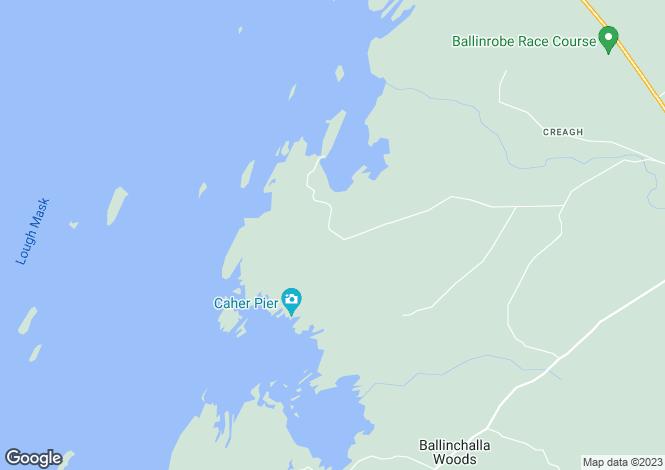 Map for Ballinrobe, Mayo