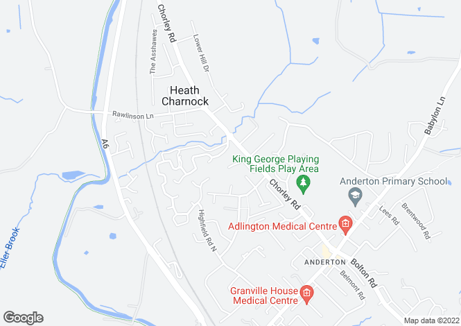 Map for Farm Avenue, Adlington, Chorley PR6