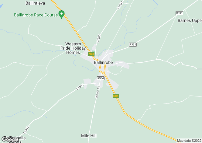 Map for Commercial/Residential Unit, Bowgate Street, Ballinrobe, Co Mayo, F31 W725