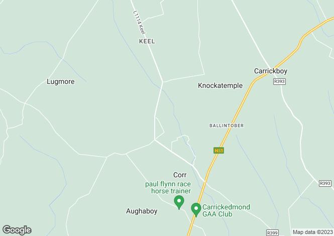 Map for Carrickboy, Longford