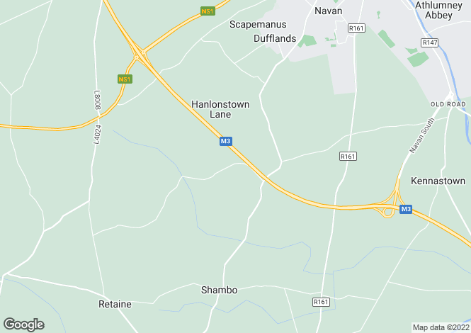 Map for Roslyn, Gainstown, Navan, Meath
