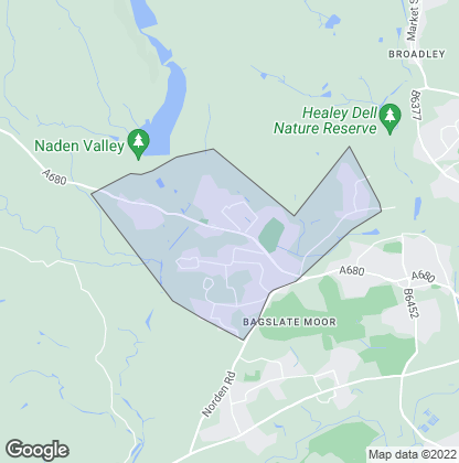Map of property in Norden