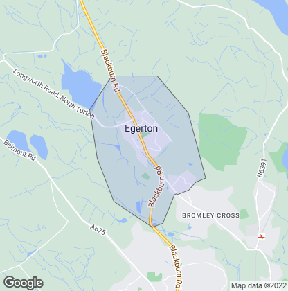 Map of property in Egerton