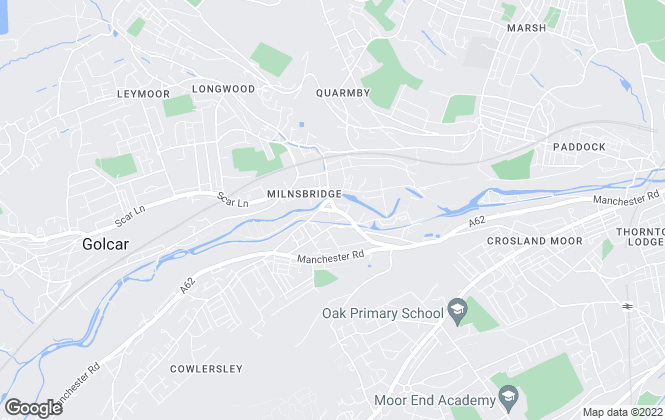 Map for Holroyd & Co, Huddersfield