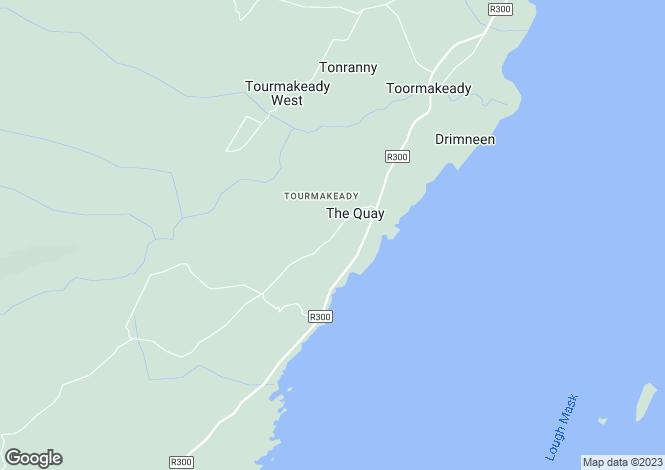 Map for Tourmakeady, Mayo