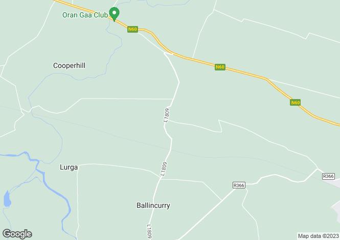 Map for Rathbrennan, Roscommon, Co. Roscommon