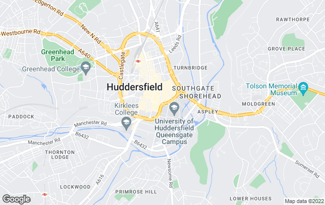 Map for Northpoint Living Limited, Huddersfield
