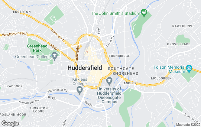 Map for Ryder & Dutton, Huddersfield