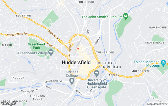 Map for Gallery Estate Agents, West Yorkshire