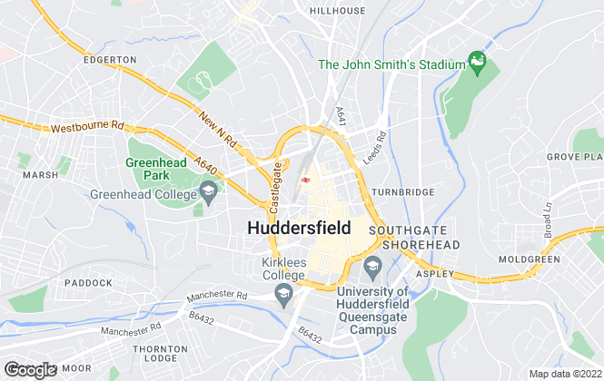 Map for Bramleys, Huddersfield