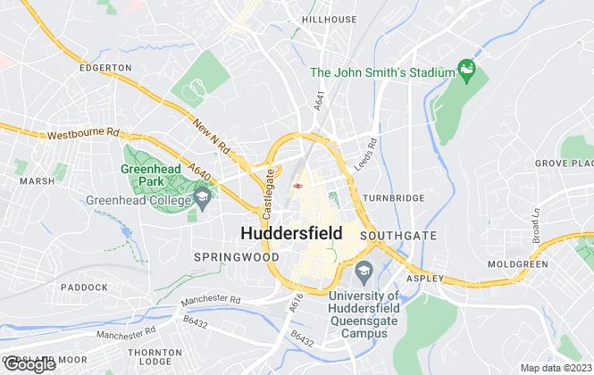 Map for Bramleys, Huddersfield