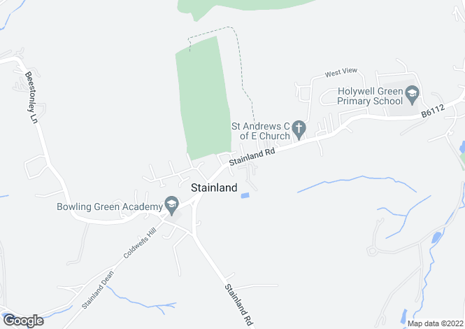 Map for Stainland