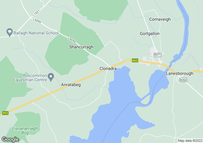 Map for Ballyleague, Roscommon