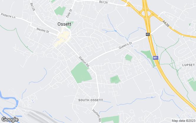 Map for Harrison Estates, Whitley