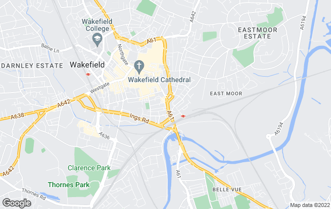 Map for Bridgfords, Wakefield