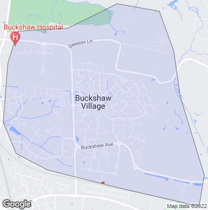 Map of property in Buckshaw Village