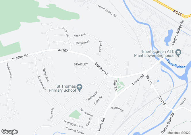Map for Pennine House