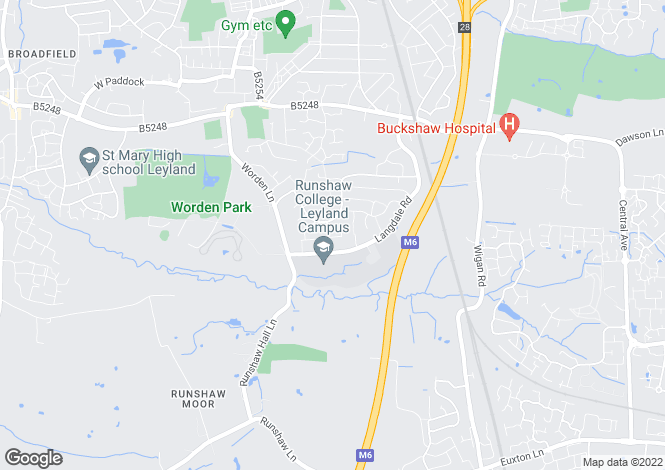 Map for Cairndale Drive,
