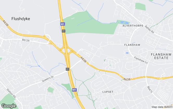 Map for Whittle Jones, Yorkshire