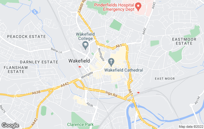 Map for William H. Brown - Lettings, Wakefield  Lettings
