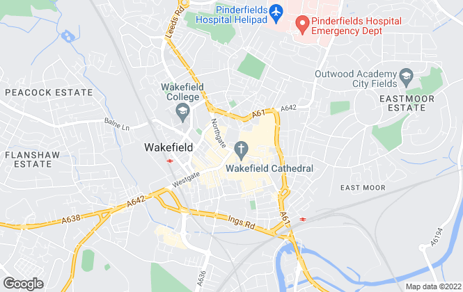 Map for Manning Stainton, Wakefield