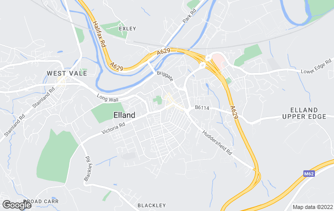Map for Bramleys, Elland