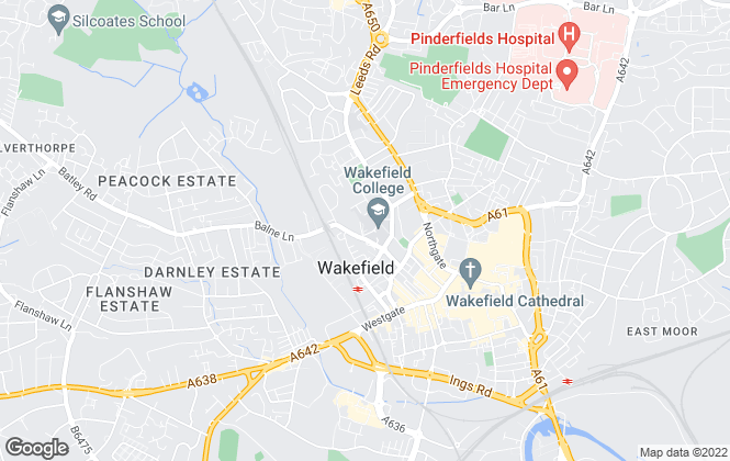 Map for Holroyd Miller, Wakefield