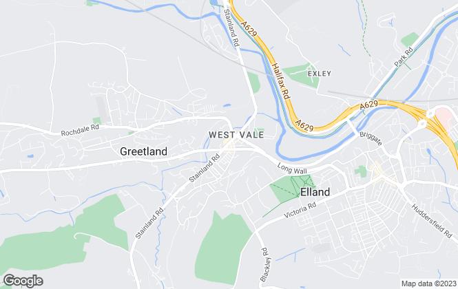 Map for Edkins & Holmes Estate Agents Ltd, Halifax