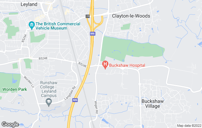 Map for Wignalls Estate Agents, Leyland