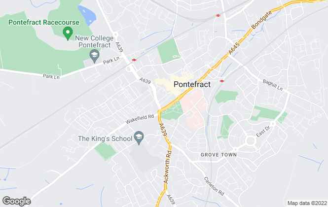 Map for Crown Estate Agents , Pontefract