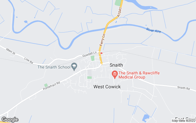 Map for Screetons, Snaith