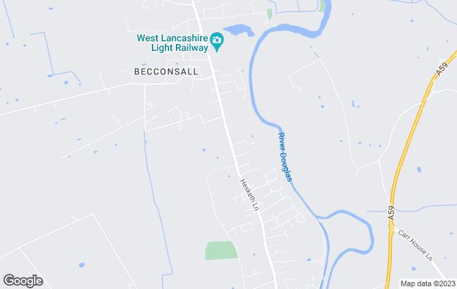 Map for Smart Move, Tarleton