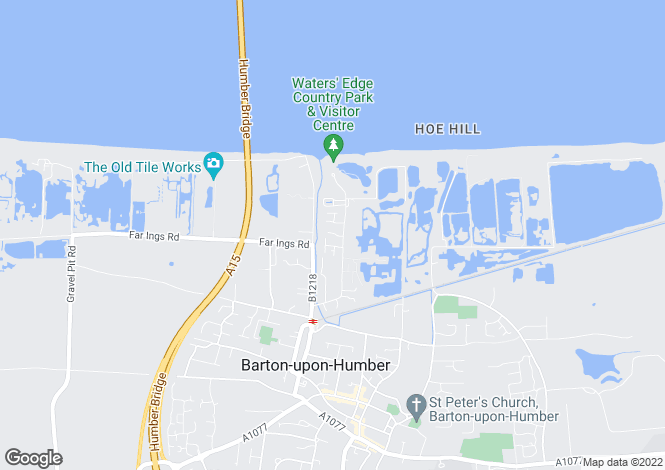 Map for Manilla Lane, Barton-Upon-Humber, North Lincolnshire