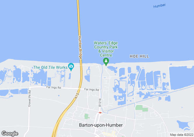 Map for Humber Terrace, Barton-Upon-Humber, North Lincolnshire