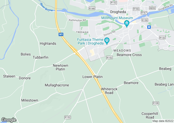 Map for Motorway Link Road, M1 Motorway, Junctions 8 & 9 - Adjacent Drogheda Retail Park , Drogheda, Louth