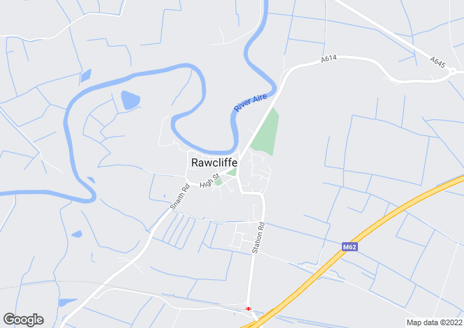 Map for High Street, Rawcliffe, Goole, DN14