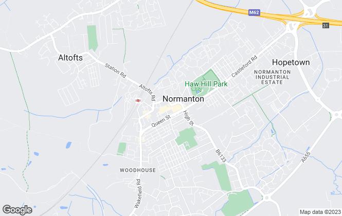 Map for Sampson & co Normanton Ltd, Normanton