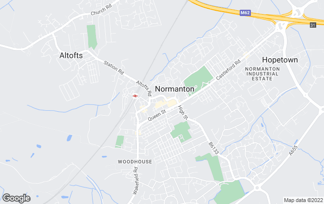 Map for B Abode, Normanton