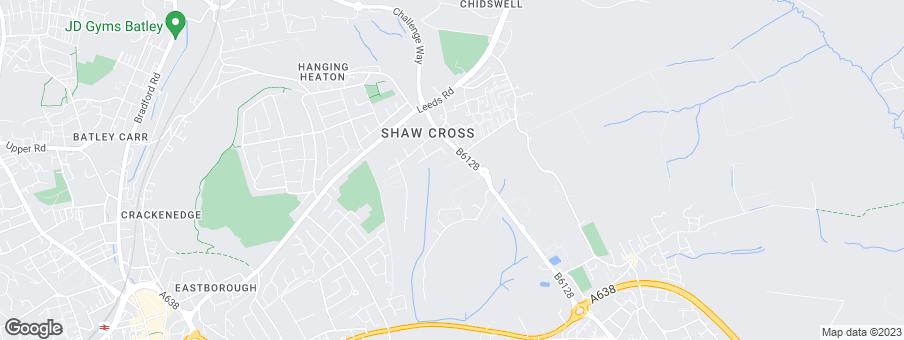 Map for Harron Homes